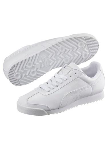 Puma Erkek Ayakkabı Roma Basic 35357221 Beyaz